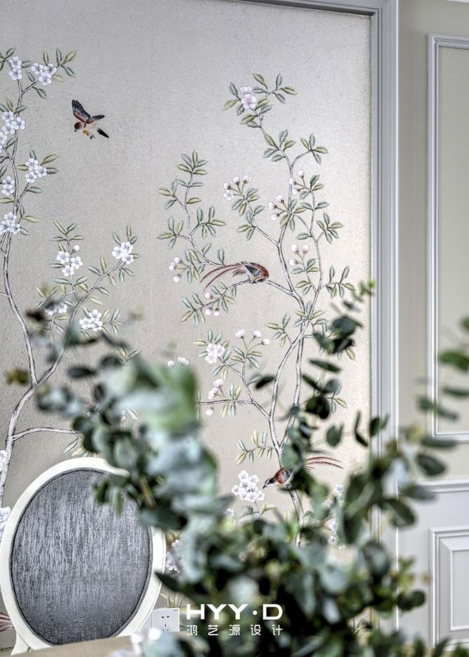 简美风格 平层 餐厅图片来自郑鸿在蕙心瑾韵--深圳Loft公馆室内设计的分享