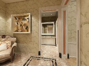 欧式 别墅 白领 衣帽间图片来自天津生活家健康整体家装在中信公园城简欧风格效果图的分享