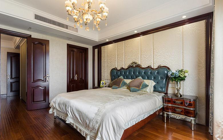 卧室图片来自家装大管家在130平欧式混搭3居 演绎舒适人居的分享