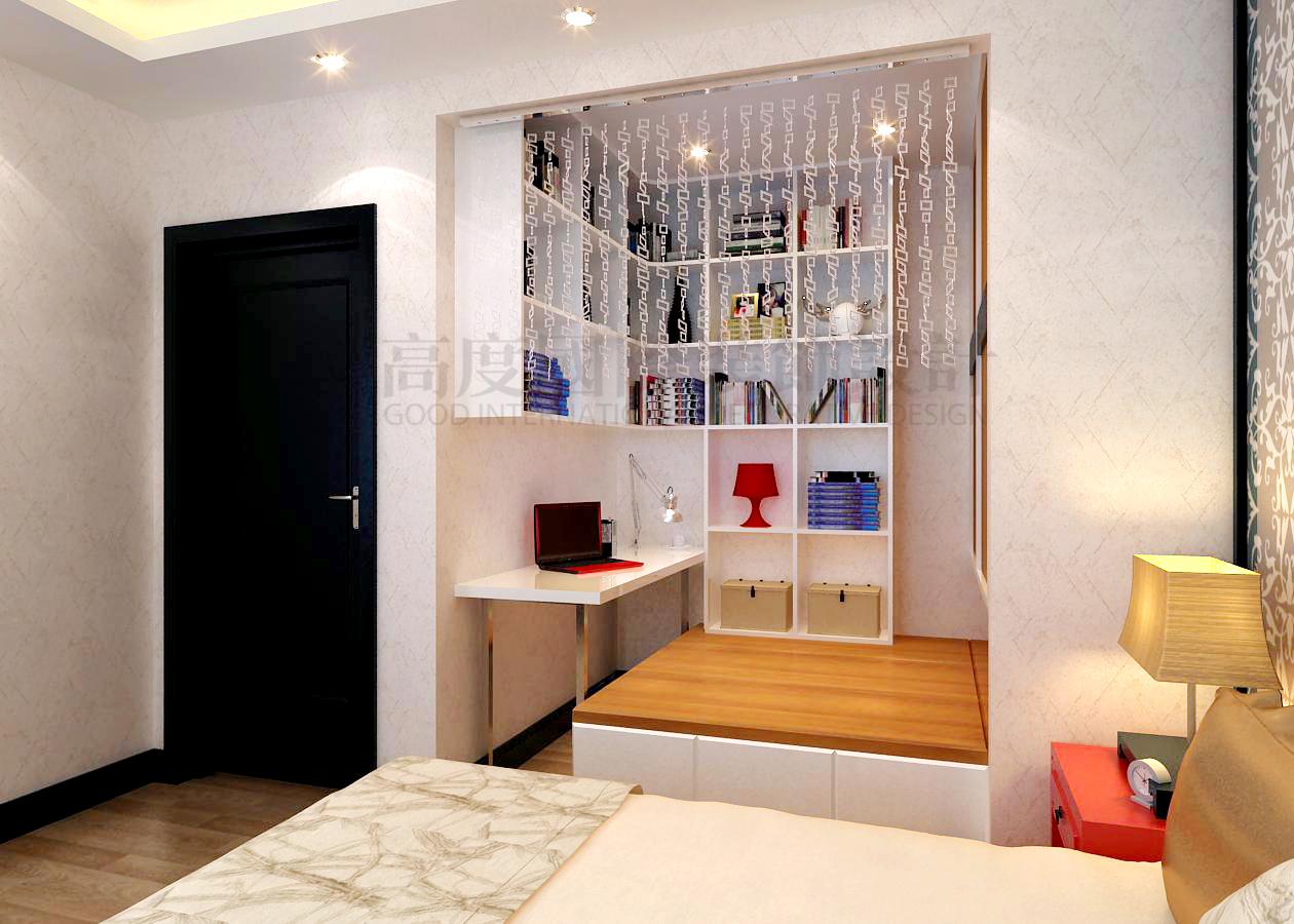 卧室图片来自天津高度国际小静在融创中心~简约风格【免费量房】的分享