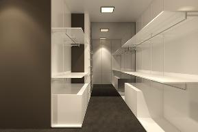 简约 别墅 小资 收纳 衣帽间图片来自别墅设计师杨洋在简约舒适纹理空间设计的分享