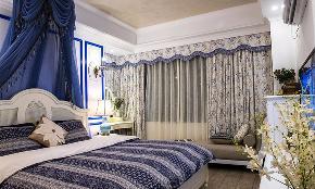 三居 地中海 白领 收纳 80后 小资 卧室图片来自今朝装饰张智慧在今朝装饰 建筑庭院地中海风格的分享