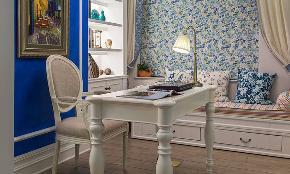 三居 地中海 白领 收纳 80后 小资 书房图片来自今朝装饰张智慧在今朝装饰 建筑庭院地中海风格的分享