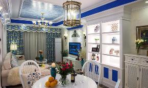 三居 地中海 白领 收纳 80后 小资 餐厅图片来自今朝装饰张智慧在今朝装饰 建筑庭院地中海风格的分享