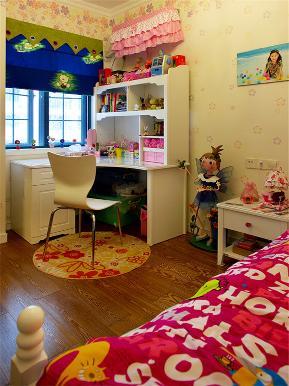 田园 三居 80后 小资 旧房改造 大户型 儿童房图片来自高度国际姚吉智在125平米田园三居自然纯真的悠闲的分享