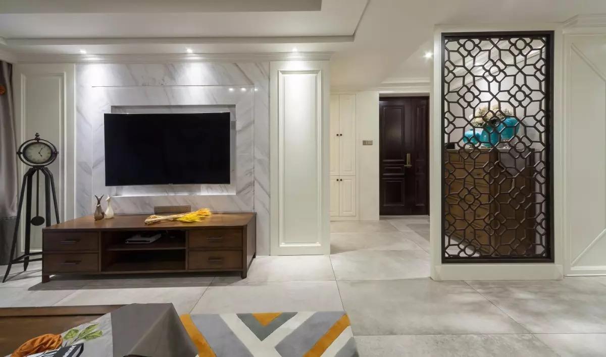简约 欧式 现代美式、 客厅图片来自游小华在简美《香橙》的分享
