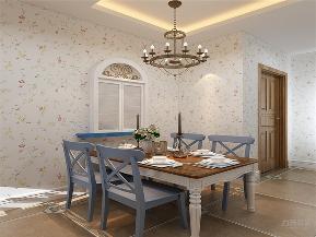 田园 地中海 三居 收纳 小资 餐厅图片来自阳光力天装饰在力天装饰-富力尚悦居-89㎡的分享