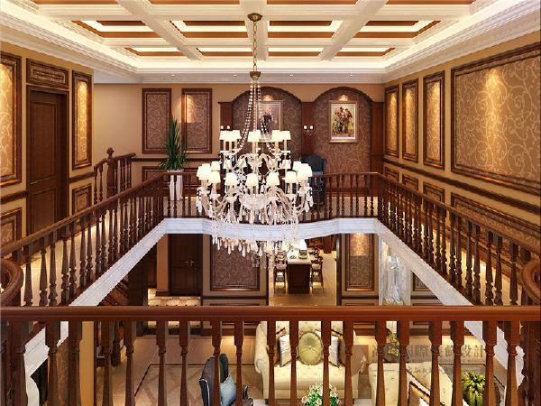 二楼客厅挑空角度