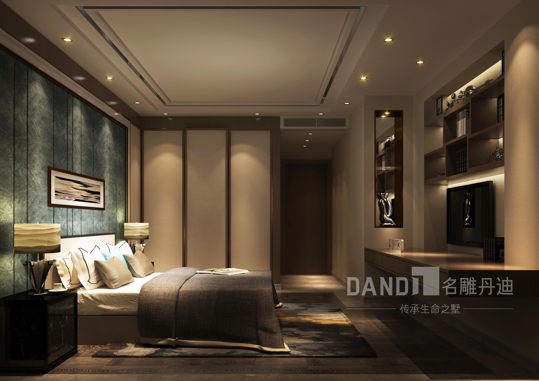 简约 别墅 现代 卧室图片来自名雕丹迪在山语湖别墅的分享