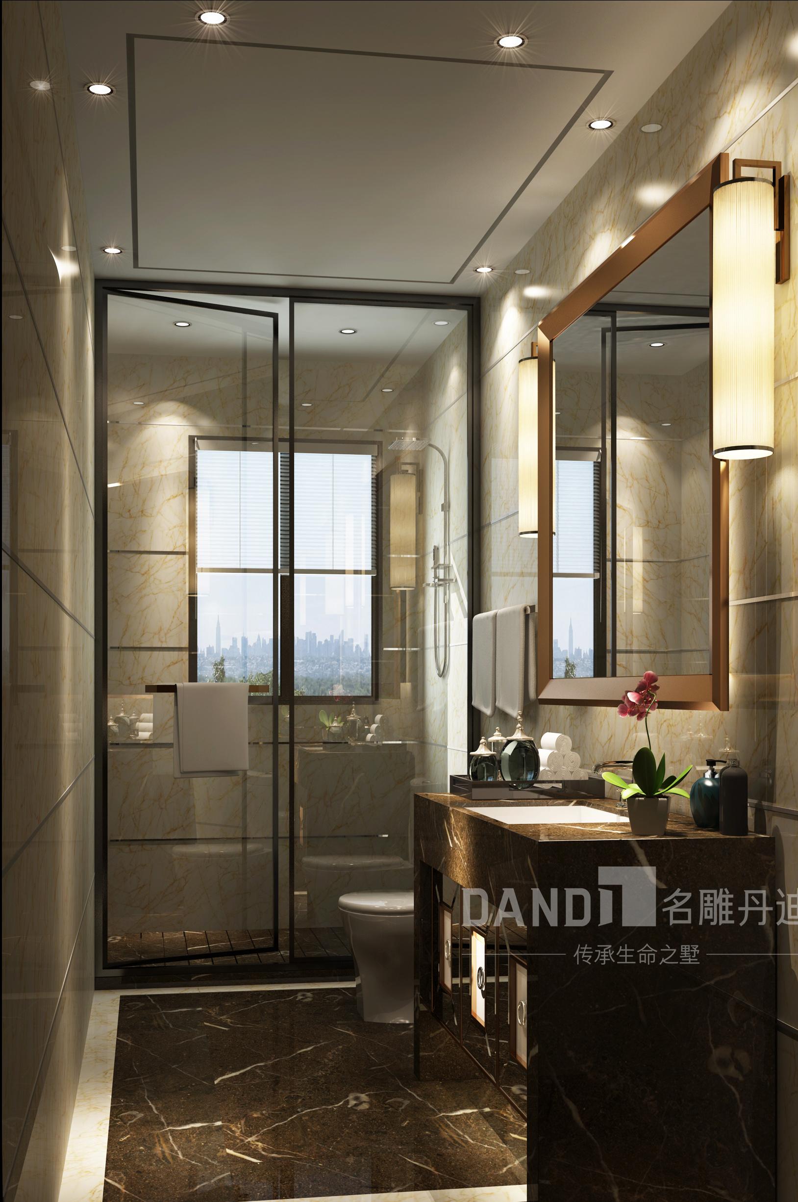简约 别墅 现代 卫生间图片来自名雕丹迪在山语湖别墅的分享