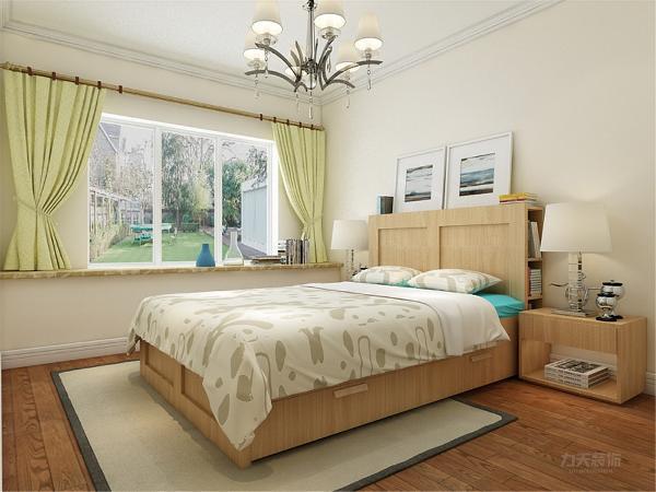 卧室部分与整体颜色相协调,简单明亮的色调对比使房间的格调非常温馨。所有卧室皆配有大型的窗户。采光性极好,显得明亮大方。