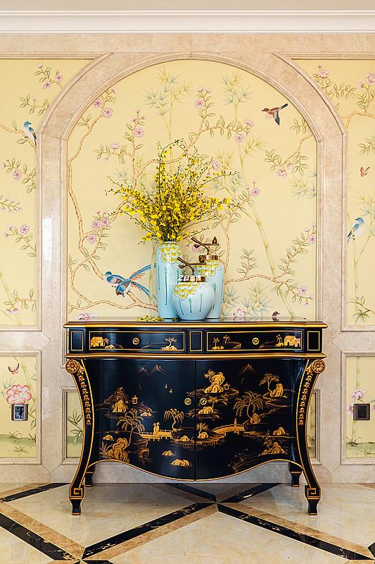 欧式 白领 收纳 80后 小资 四房 其他图片来自中博装饰在翡翠城176方欧式新古典的分享