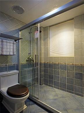 地中海 三居 白领 80后 小资 大户型 卫生间图片来自高度国际姚吉智在140平米清新唯美地中海三居室的分享