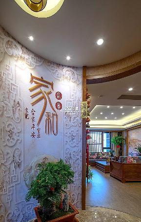 二居 简约 中式 白领 收纳 80后 小资 玄关图片来自中博装饰在寰宇天下89方新中式典雅生活的分享