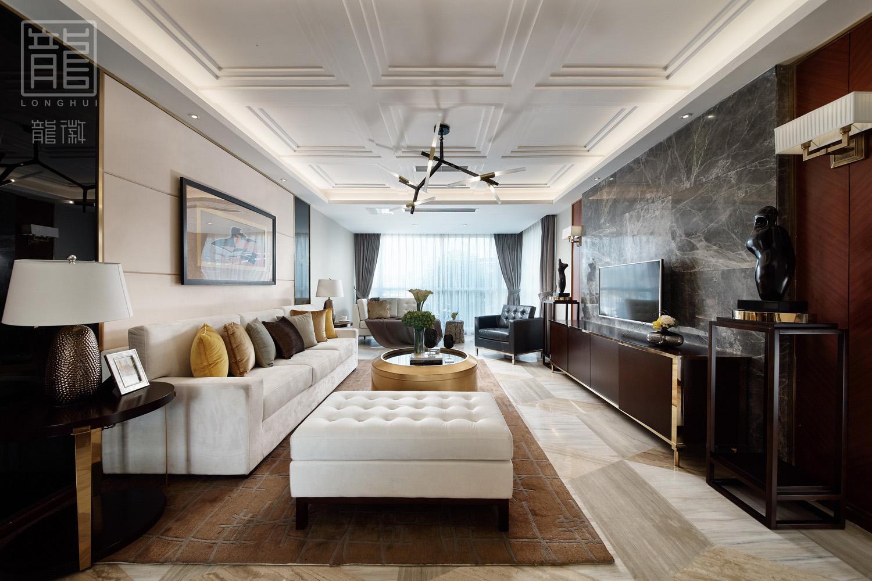 简约 客厅图片来自龙徽设计在摩登时代——大都市的温馨舒适家的分享