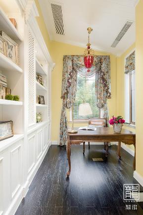田园 别墅 白领 书房图片来自龙徽设计在四月的爱丽丝的分享