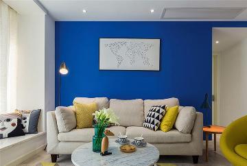 131㎡三居室北欧风格设计