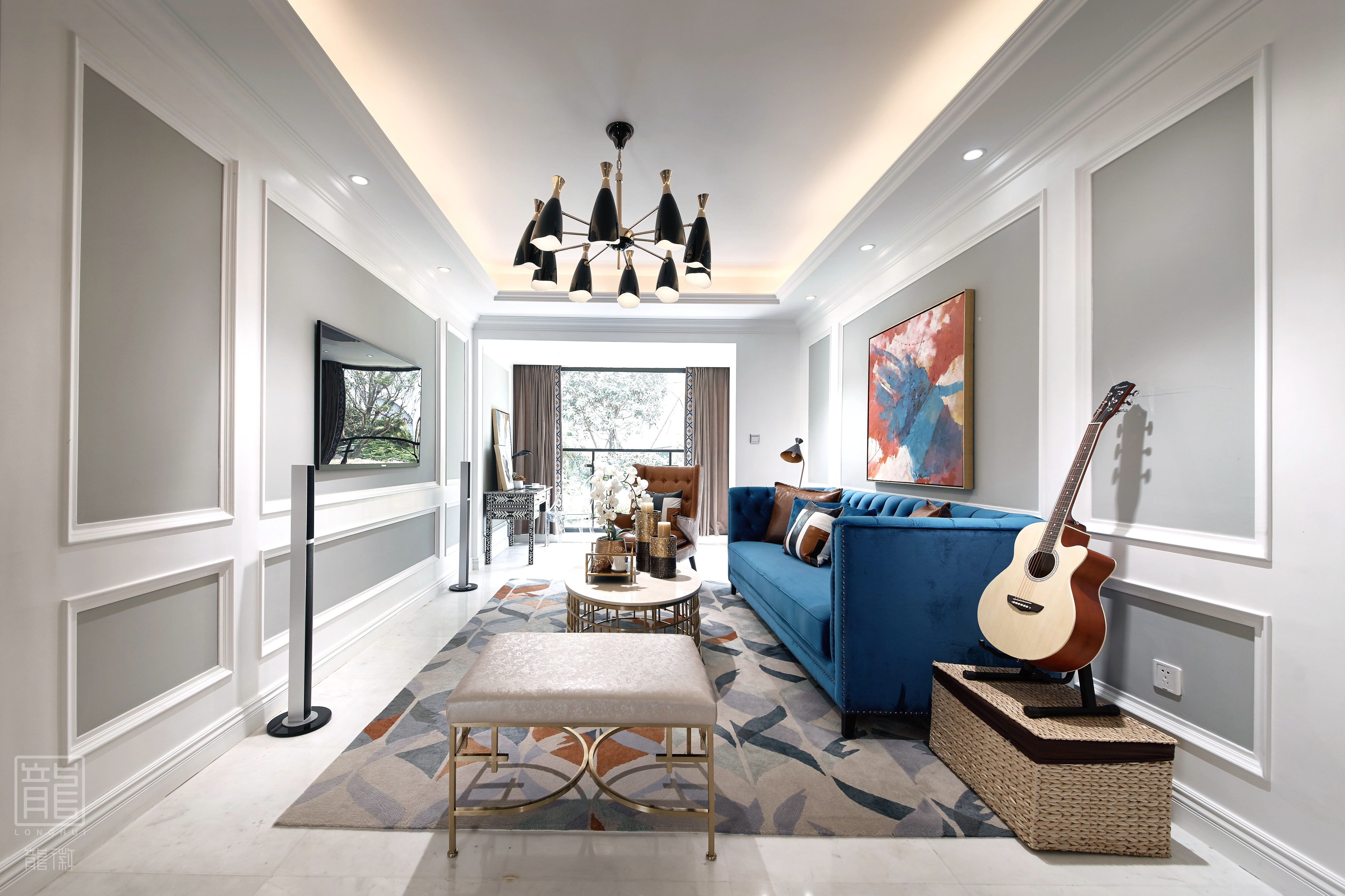 简约 白领 80后 小资 客厅图片来自龙徽设计在未来在这里遇见的分享