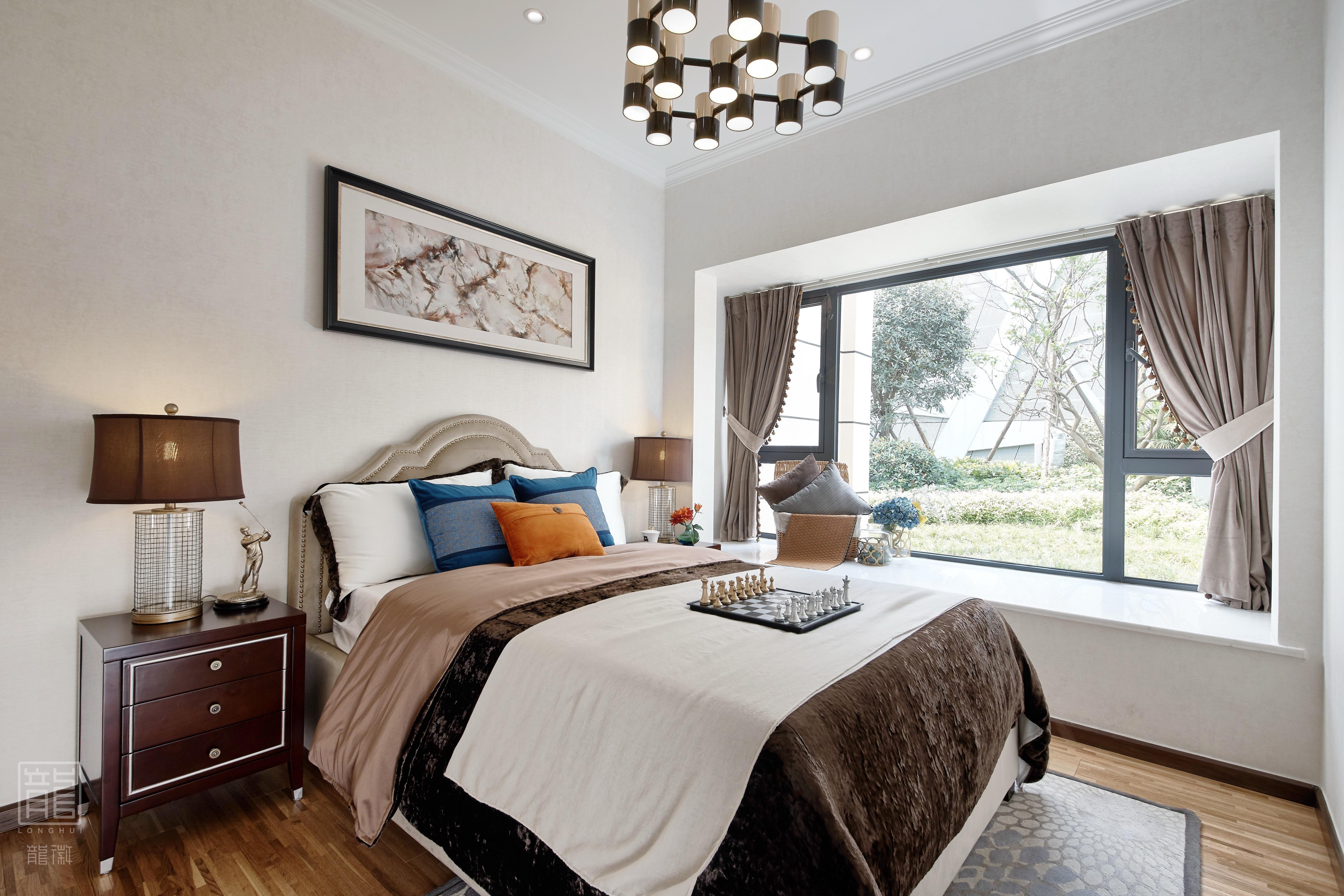 简约 白领 80后 小资 卧室图片来自龙徽设计在未来在这里遇见的分享