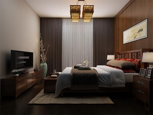 主卧采用强化复合地板,设有飘窗,壁纸采用浅色欧式壁纸,使整体休息环境更为舒适;次卧采光充足,视野开阔,采用强化复合地板,顶面为石膏线绕房间一圈