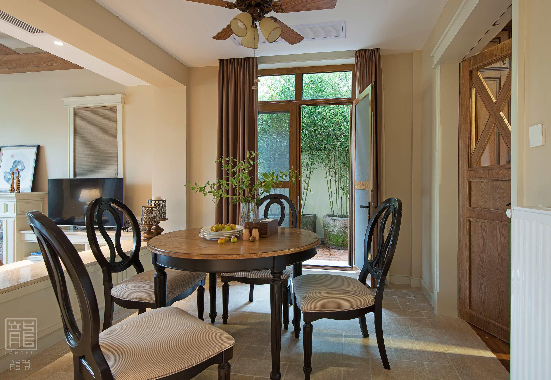 别墅 休闲 美式 心灵安放 餐厅图片来自龙徽设计在安放的分享
