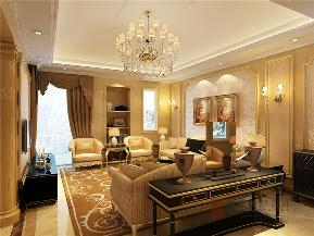 欧式 别墅 小资 大户型 高帅富 白富美 客厅图片来自高度国际姚吉智在龙湾别墅500㎡古典欧式法则的分享