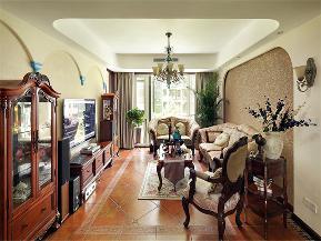 地中海 美式 混搭 大户型 80后 小资 高富帅 三居 客厅图片来自高度国际姚吉智在176平米地中海美式不一样混搭美的分享