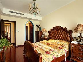 地中海 美式 混搭 大户型 80后 小资 高富帅 三居 卧室图片来自高度国际姚吉智在176平米地中海美式不一样混搭美的分享