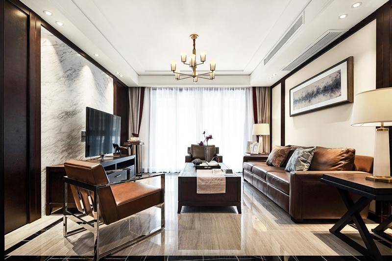 简约 白领 美式 美式家具 客厅图片来自乐粉_20171206113436404在美式+现代的分享