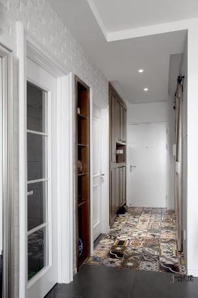 二居 久栖设计 上元君庭 室内设计 家装设计 收纳 旧房改造 美式 东南亚 玄关图片来自久栖设计在【久栖设计】仙人掌的休闲时光的分享