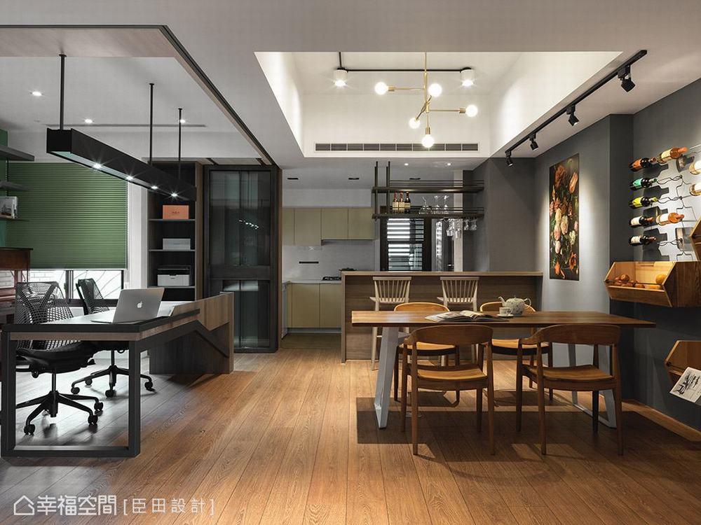 混搭 二居 工业 餐厅图片来自幸福空间在空间的构筑来自生活体验的堆砌的分享