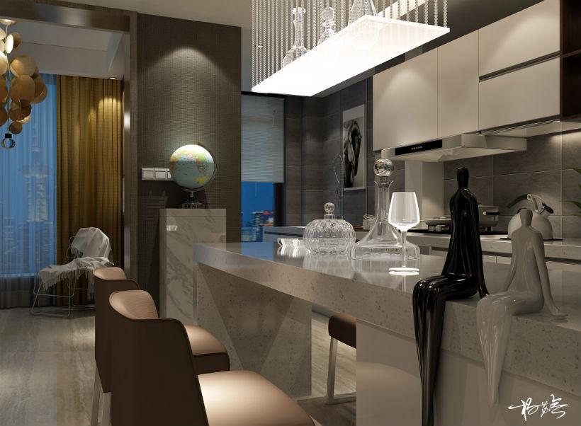 餐厅 餐厅图片来自石家庄大业美家装饰在大业美家——汇君城200平后现代的分享
