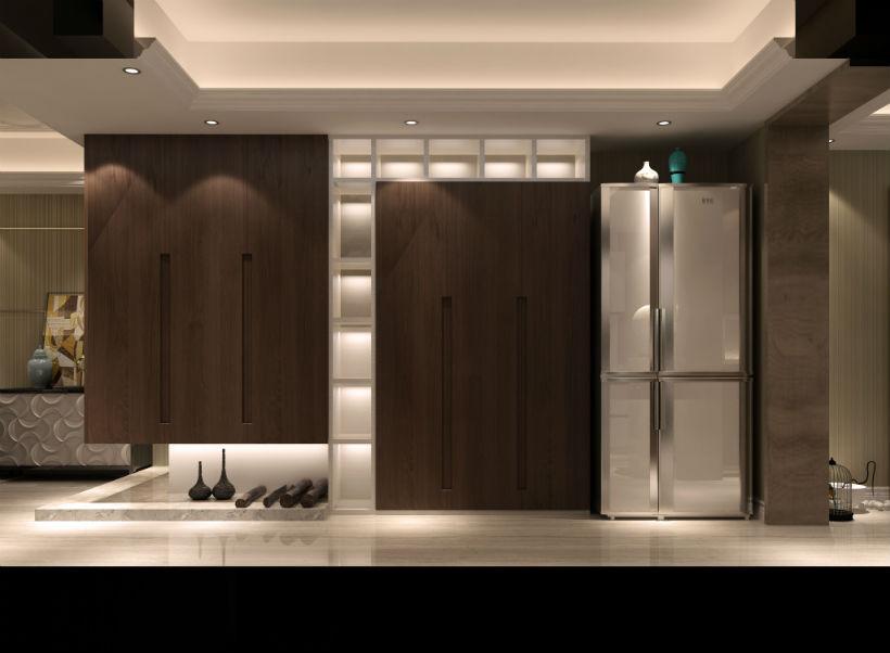 玄关 玄关图片来自石家庄大业美家装饰在大业美家——汇君城200平后现代的分享