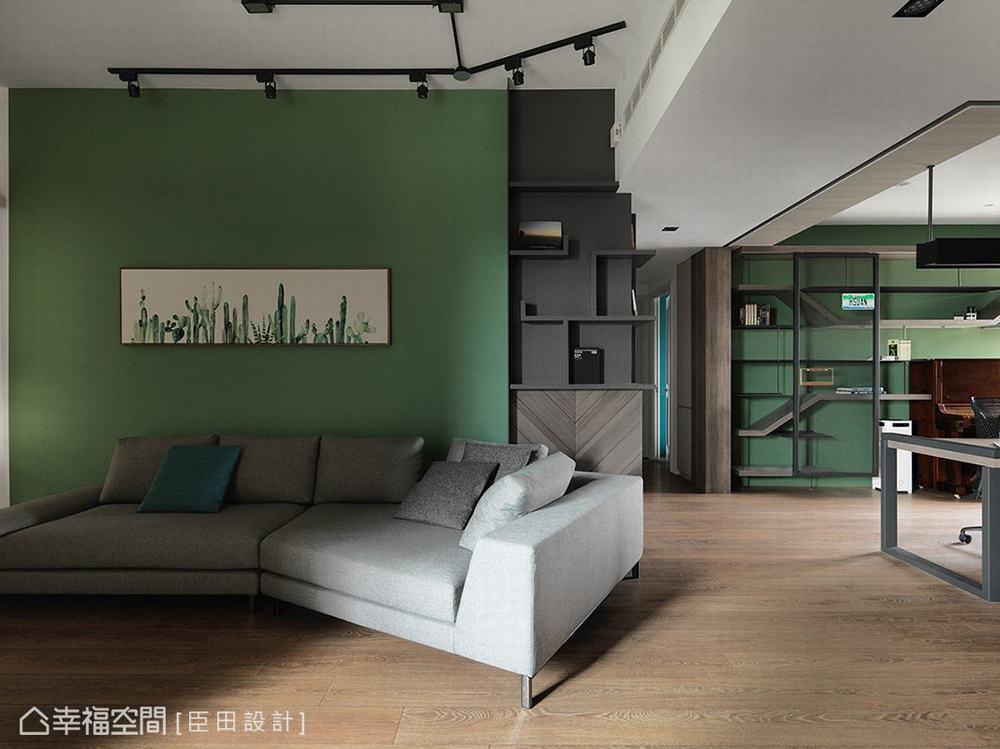 混搭 二居 工业 客厅图片来自幸福空间在空间的构筑来自生活体验的堆砌的分享