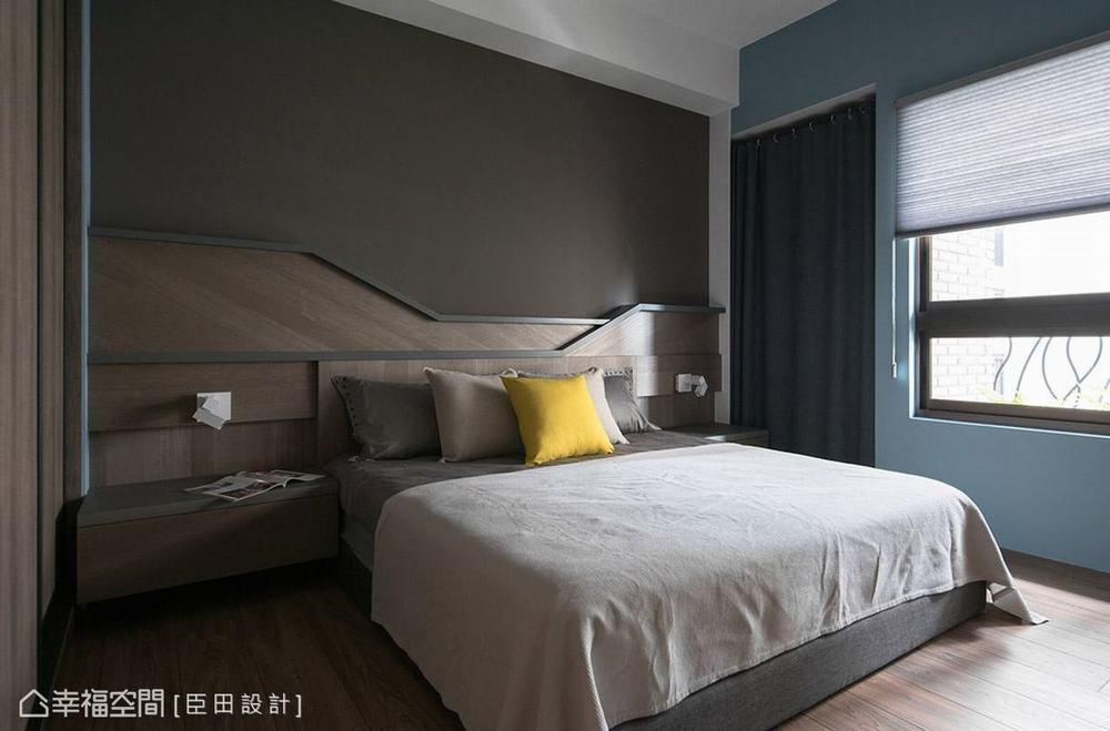 混搭 二居 工业 卧室图片来自幸福空间在空间的构筑来自生活体验的堆砌的分享
