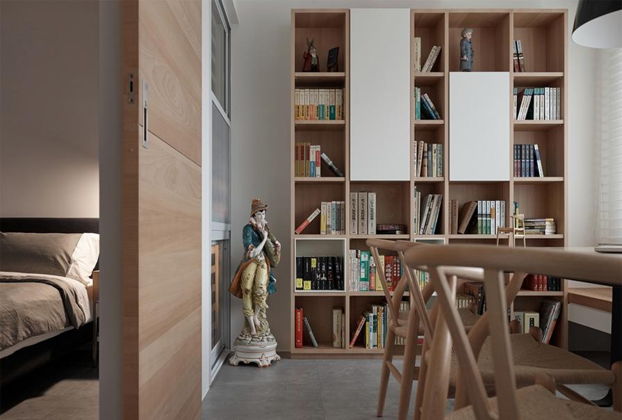 简约 二居 原木风图片来自创之鸿在创之鸿装饰-房信彩虹城-简约风格的分享