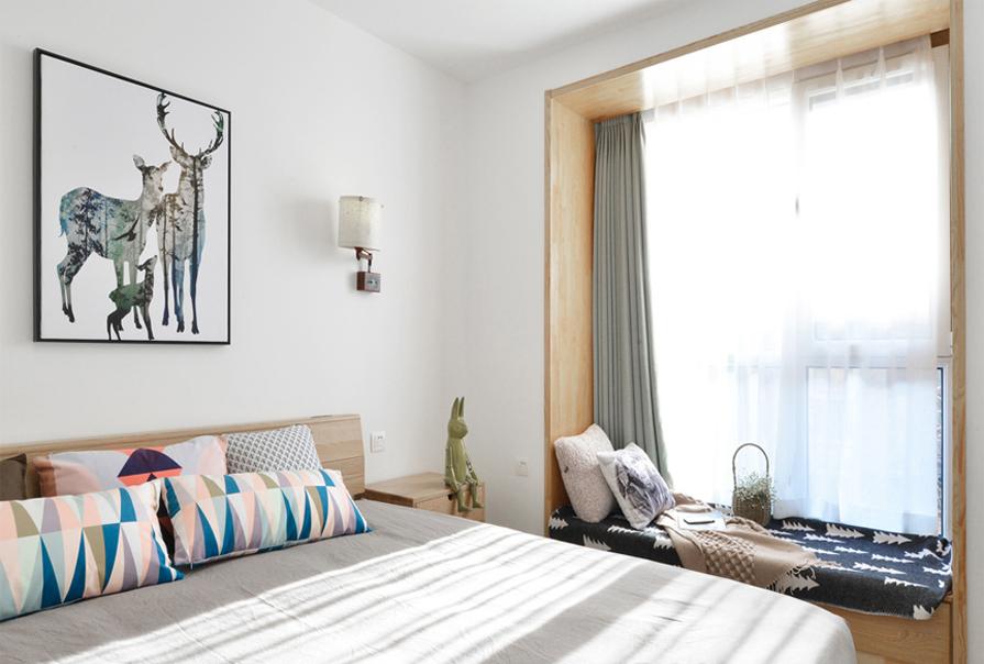 日式 二居 80后图片来自创之鸿在创之鸿装饰-房信彩虹城-日式风格的分享