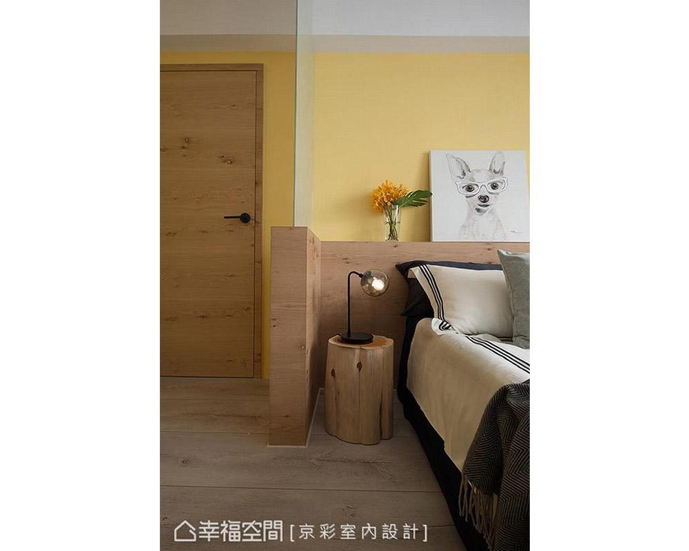 三居 混搭 北欧 小户型 卧室图片来自幸福空间在多元混搭 积木意象现代北欧宅的分享