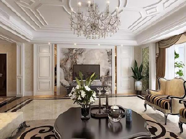 门厅的玄关设计,典雅大方,亮黑色镶金色花纹的玄关柜,造型优美,搭配银色的对象,古典的油画,沉静而稳重。