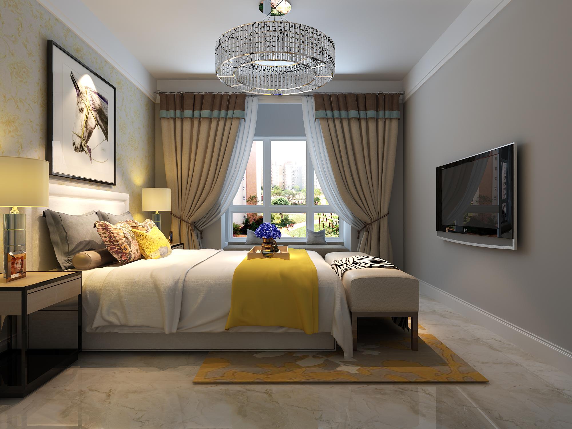 简约 卧室图片来自唐山高度国际装饰在凤城国贸的分享