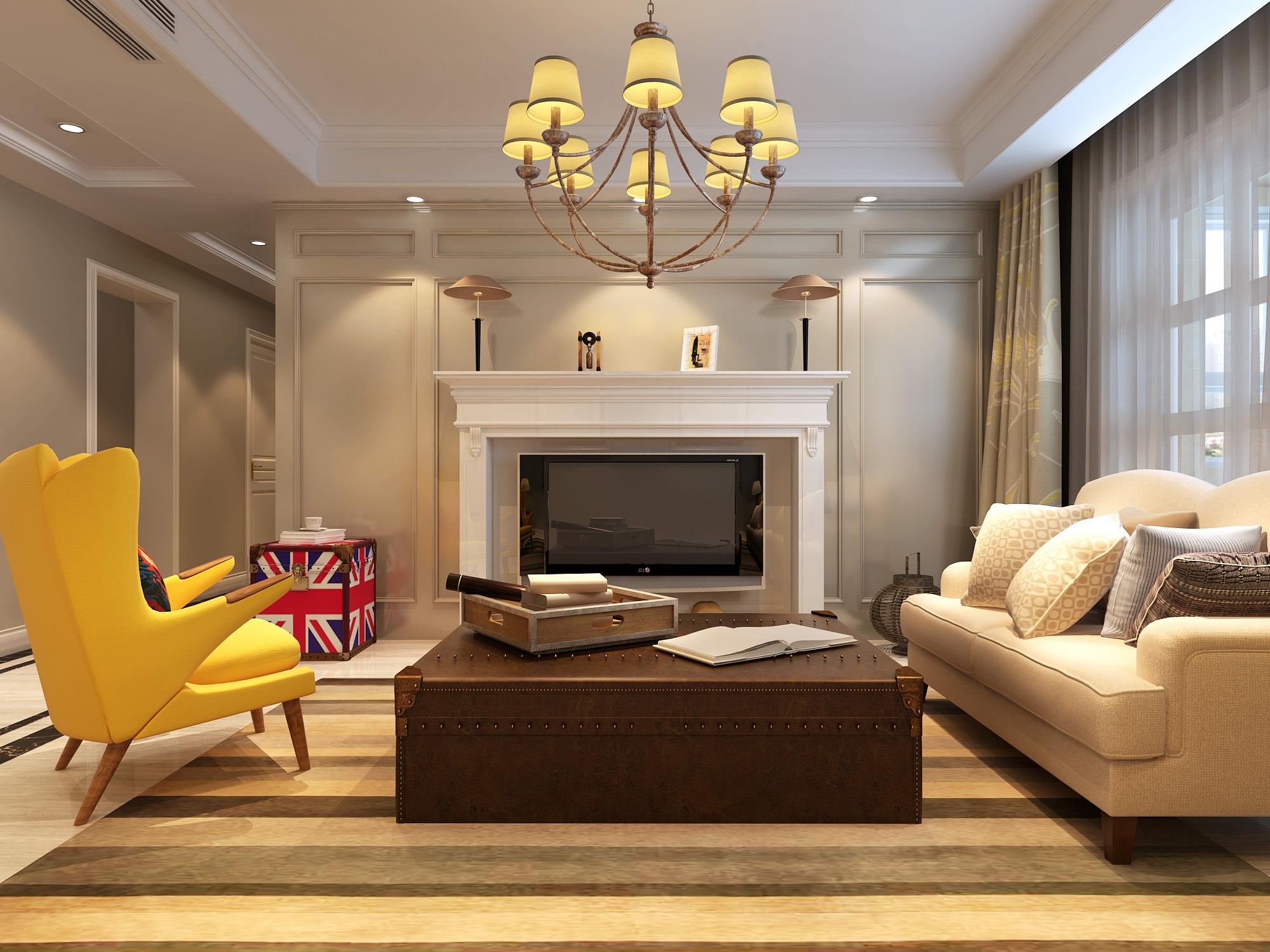 简约 客厅图片来自唐山高度国际装饰在凤凰湖畔的分享