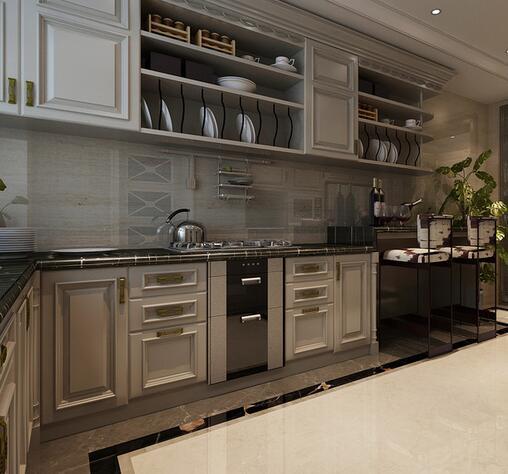 欧式 三居 白领 收纳 旧房改造 80后 小资 厨房图片来自乐粉_20160927144235439在福星惠誉红桥城-欧式风格的分享