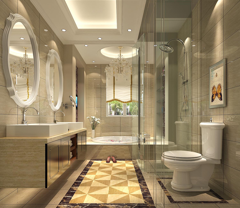 简约 卫生间图片来自唐山高度国际装饰在叠拼别墅的分享