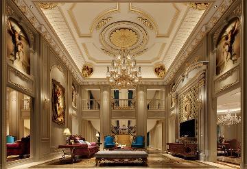 重庆尊爵堡1800平方法式风格