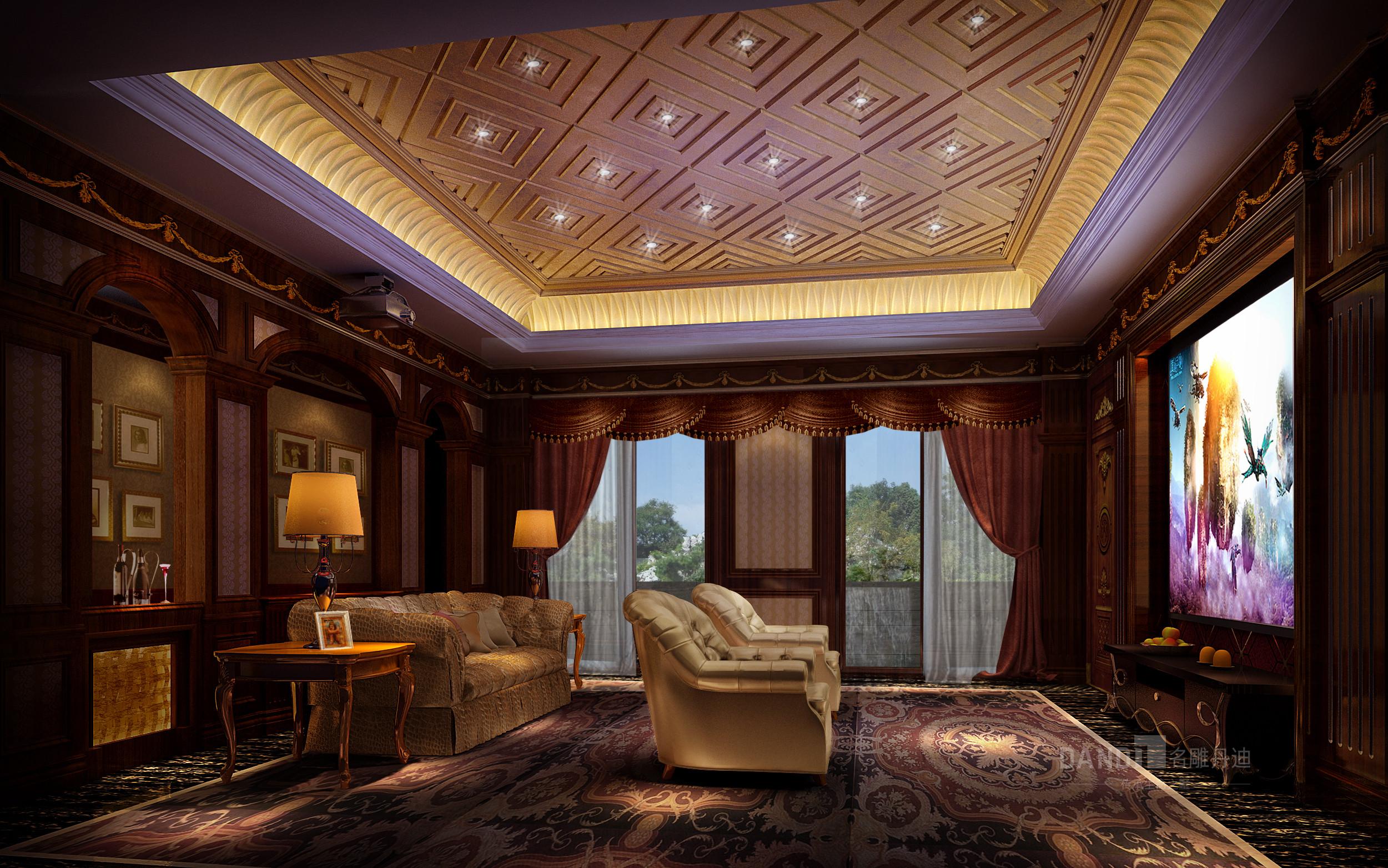 欧式 卧室图片来自名雕丹迪在白垤里嘉园1000平欧式风格的分享