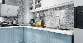 地中海 二居 白领 收纳 旧房改造 80后 小资 厨房图片来自乐粉_20160927144235439在融科天域88平地中海风格的分享
