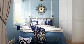 地中海 二居 白领 收纳 旧房改造 80后 小资 卧室图片来自乐粉_20160927144235439在融科天域88平地中海风格的分享