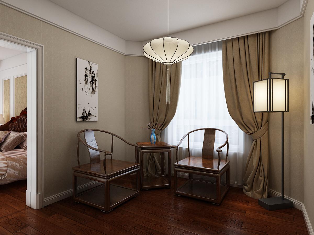 卧室 卧室图片来自石家庄大业美家装饰在大业美家—远见200平简欧风格的分享