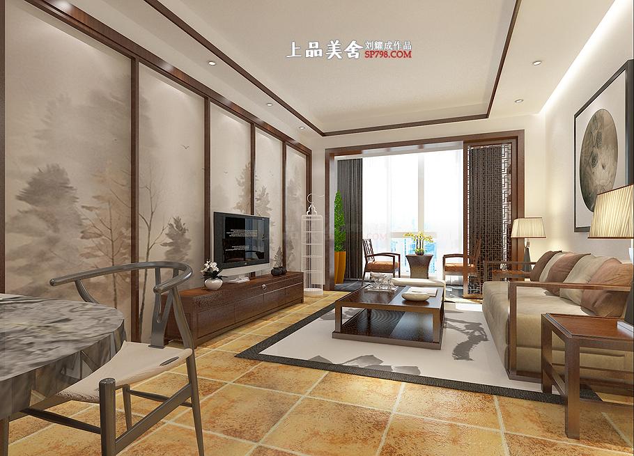 三居 收纳 80后 小资 简约 客厅图片来自刘耀成在长沙辉煌国际中式设计的分享