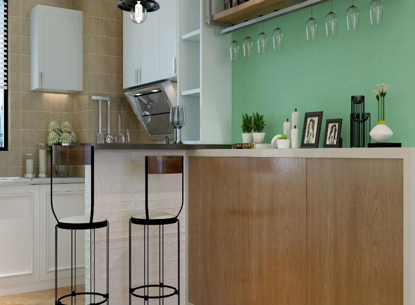 厨房图片来自石家庄大业美家装饰在盛邦138平—现代简约风格的分享